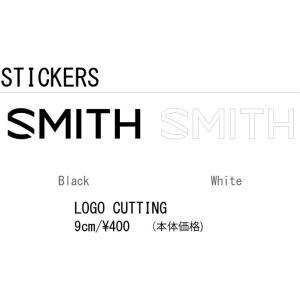 【送料無料(一部地域は除く)】SMITH スミス LOGO CUTTING STICKER 9cm ロゴ カッティング ステッカー 登山 釣り アウトドア スケート スノーボード スキー gfcreek