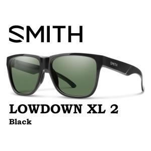 SMITH スミス サングラス 【SMITH LOWDOWN XL2  BLACK 】 登山 自転車 釣り 偏光 偏向 SUNGLASS BLUE MIRROR gfcreek