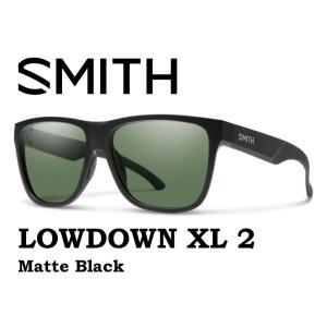 SMITH スミス サングラス 【SMITH LOWDOWN XL2  MATTE BLACK 】 登山 自転車 釣り クロマポップ 偏光 偏向 SUNGLASS GRAY GREEN gfcreek