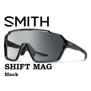 SMITH スミス サングラス 【SMITH SHIFT MAG BLACK 】 登山 自転車 釣り フィッシング クロマポップ 偏光 偏向 SUNGLASS 調光 gfcreek