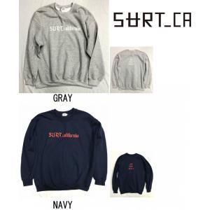 50%OFF SURT CA サート CS02 クルーネック トレーナー スウェット 長袖 SURF SK8 SNOW ART|gfcreek