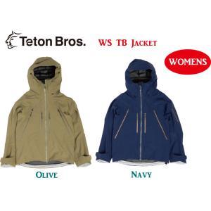 Teton Bros ティートンブロス WS TB JACKET 女性 ジャケット ウェア バックカントリー 登山 キャンプ アウトドア スキー スノーボード WOMEN|gfcreek