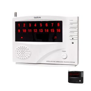 送料無料 ワイヤレスチャイム コードレスチャイム 業務用 最大登録/16ch 増設用/親機 単品 店舗用 インターホン 呼び鈴 呼び出しチャイム _72001|ggbank