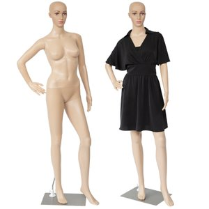 マネキン 全身 リアルマネキン 女性 靴対応 軽くて強い 176cm B83 W61 H86 ディスプレイ 撮影 トルソー マネキン人形 可動 頭 手  □ _74140 ggbank
