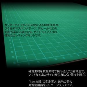 送料無料 A2サイズ カッティングマット 両面仕様 _75010|ggbank