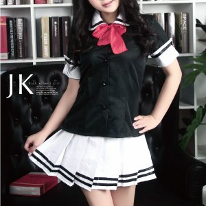 今年の ハロウィンは 仮装パーティー♪  コスプレの王道!定番!JK コスチューム!  女子高生 セ...