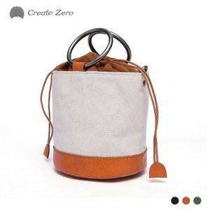 ショルダーバッグ ミニショルダー レディース 帆布 キャンバス 本革 レザー カジュアル 3色 create zero @82175 ggbank