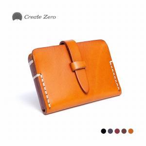 カードケース レディース メンズ 革 本革 皮 会員証 クレジットカード 5色 ブランド create zero @82208|ggbank