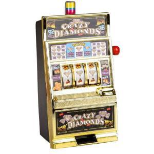 送料無料 スロットマシン ランプ/サウンド レバー式/カジノ タイプ/パーティー/ゲーム/余興/ビンゴ/スロットマシーン/おもちゃ/インテリア/_85138|ggbank