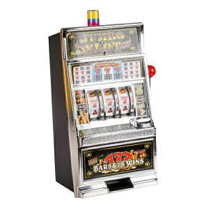 スロットマシン ランプ サウンド レバー式 カジノタイプ スロットマシーン  おもちゃ アメリカン雑貨 インテリア ゲーム _85139|ggbank