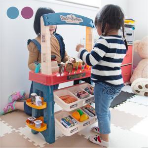 お店屋さんごっこ おもちゃ アイスクリーム屋さん お菓子屋さん 知育玩具 ピンク おみせやさん おままごと 子供 男の子 女の子  _85142|ggbank
