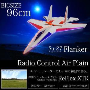 ラジコン 飛行機 戦闘機 大型ボディ 軽量470g 日本語説明書付 操作範囲500m〜1000m LED搭載 エアープレーン _85250|ggbank