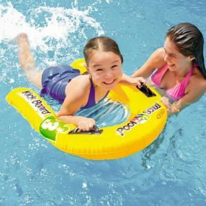 intex 浮き輪 子供 フロート キックボード ビート板 キッズ プール 海水浴 ハンドル付き 浮輪 うきわ バタ足 練習 水泳 2気 76cm×55cm _85471|ggbank