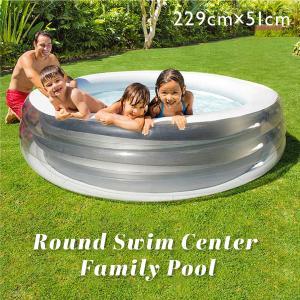 intex プール 家庭用 ビニールプール 大型 インテックス 子供用 大人用 大きいサイズ 家庭用プール 水遊び 子ども ファミリープール  _85480|ggbank