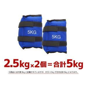 パワーアンクル パワーリスト 2.5kg 2個セット 5kg アンクルウエイト トレーニング器具 筋トレ ダイエット ウォーキング ランニング 手首 足首_86071|ggbank