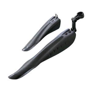 送料無料 マッドガード 汎用/泥除け フロント/リア 2個セット 26/27インチ 自転車 _86109|ggbank