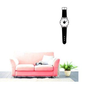 ウォールステッカー インテリアシール 壁紙シール ウォールクロック 時計   壁掛け時計 掛時計 シンプル モダンデザイン アンティーク _87109|ggbank