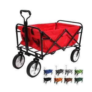 キャリーワゴン キャリーカート 折りたたみ アウトドア 耐荷重80kg 軽量 頑丈 4輪 アウトドアワゴン ワゴンカート 4輪  @a762|ggbank