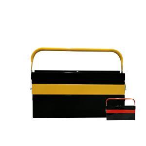 工具箱 ツールボックス スチール 3段 両開き 大型 42cm 2色 収納 整理 工具入れ 道具箱 車載工具 三段 収納ボックス @a871