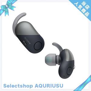 【工場再生品】SONY ソニー WF-SP700N B ブラック Bluetoothイヤホン ワイヤ...