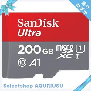 Sandisk Ultra 200 GB microSDXCメモリカード+ SDアダプタwith a...