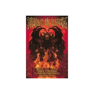 輸入盤 CRADLE OF FILTH / PEACE THROUGH SUPERIOR FIREPOWER [DVD]|ggking