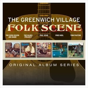 輸入盤 VARIOUS / ORIGINAL ALBUM SERIES : GREENWICH VILLAGE FOLK SCENE [5CD]