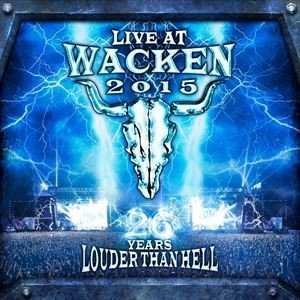 輸入盤 VARIOUS / LIVE AT WACKEN 2015 - 26 YEARS LOUDER THAN HELL [2BLU-RAY+2CD]|ggking