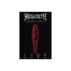 輸入盤 MEGADETH / COUNTDOWN TO EXTINCTION : LIVE [BLU-RAY]|ggking