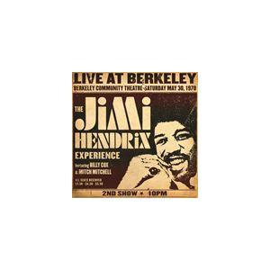 輸入盤 JIMI HENDRIX / LIVE AT BERKELEY : MAY 30 1970 2ND SHOW 10PM [CD] ggking