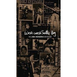 輸入盤 JIMI HENDRIX / WEST COAST SEATTLE BOY : THE JIMI HENDRIX ANTHOLOGY (4CD+DVD) [4CD+DVD]|ggking