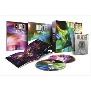 輸入盤 THUNDER / STAGE SUPER VIDEO BOX SET (LTD) [BLU-RAY+DVD+BOOKLET]|ggking
