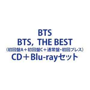 BTS / BTS, THE BEST(初回盤A+初回盤C+通常盤・初回プレス) [CD+Blu-rayセット]|ggking