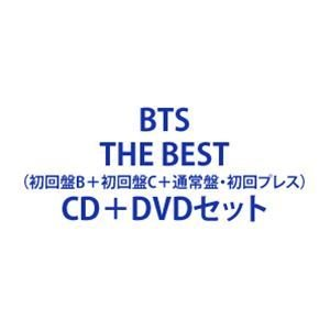 BTS / BTS, THE BEST(初回盤B+初回盤C+通常盤・初回プレス) [CD+DVDセット]|ggking
