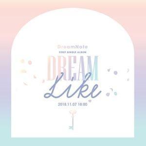 輸入盤 DREAMNOTE / 1ST SINGLE : DREAMLIKE [CD]|ggking