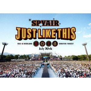 SPYAIR/JUST LIKE THIS 2016(通常盤) [DVD] ggking