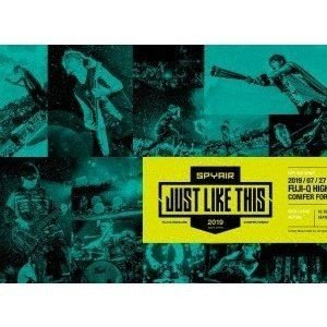 SPYAIR/JUST LIKE THIS 2019(完全生産限定盤) [DVD]|ggking