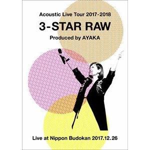 絢香/Acoustic Live Tour 2017-2018 〜3-STAR RAW〜 [DVD]|ggking