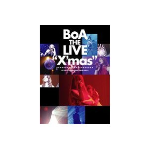 "BoA/BoA THE LIVE ""X'mas"" [DVD]|ggking"