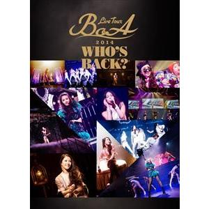 BoA/BoA LIVE TOUR 2014 〜WHO'S BACK?〜 [DVD]|ggking