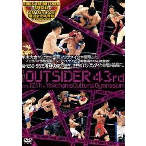 ジ・アウトサイダー 43rd RINGS/THE OUTSIDER〜SPECIAL〜 in 横浜文化体育館 [DVD] ggking