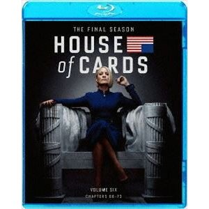 ハウス・オブ・カード 野望の階段 ファイナルシーズン Blu-ray Complete Package [Blu-ray]|ggking