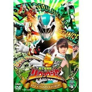 スーパー戦隊シリーズ 騎士竜戦隊リュウソウジャー VOL.4 [DVD]|ggking