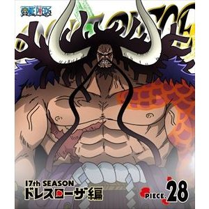 ONE PIECE ワンピース 17THシーズン ドレスローザ編 piece.28 [Blu-ray]|ggking