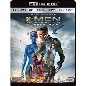 X-MEN:フューチャー&パスト<4K ULTRA HD+3D+2Dブルーレイ>(4K ULTRA HD Blu-ray) [Ultra HD Blu-ray]|ggking