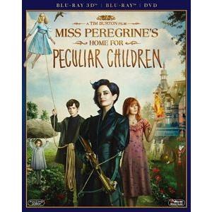 ミス・ペレグリンと奇妙なこどもたち 3枚組3D・2Dブルーレイ&DVD〔初回生産限定〕 [Blu-ray]|ggking