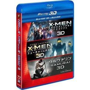 X-MEN 3D2DブルーレイBOX [Blu-ray]|ggking