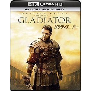 グラディエーター[4K ULTRA HD+Blu-rayセット] [Ultra HD Blu-ray]|ggking