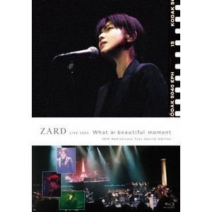 """ZARD LIVE 2004""""What a beautiful moment""""[30th Anniversary Year Special Edition] [Blu-ray]