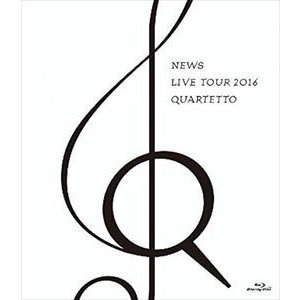 NEWS LIVE TOUR 2016 QUARTETTO(通常盤) [Blu-ray]|ggking